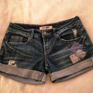 Garage short size 3